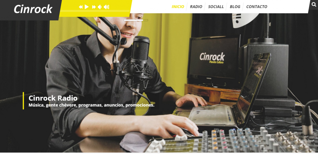 (Español) Página web Cinrock